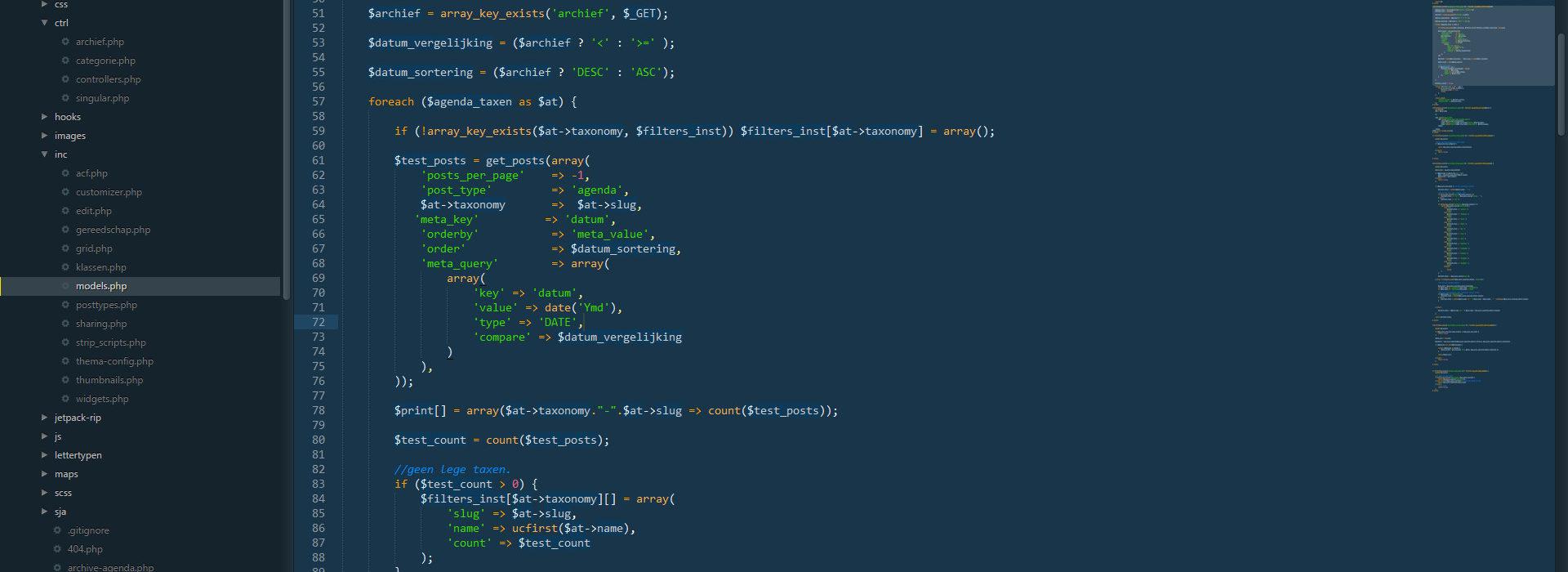 php model vloerwerk.org agenda