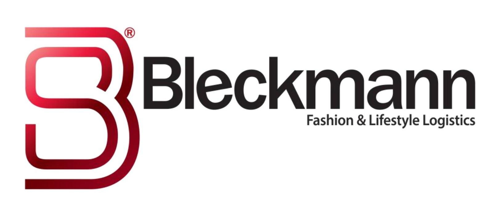 Logo van modedistributiecentrum Bleckmann, die mensen onterecht ontslaat