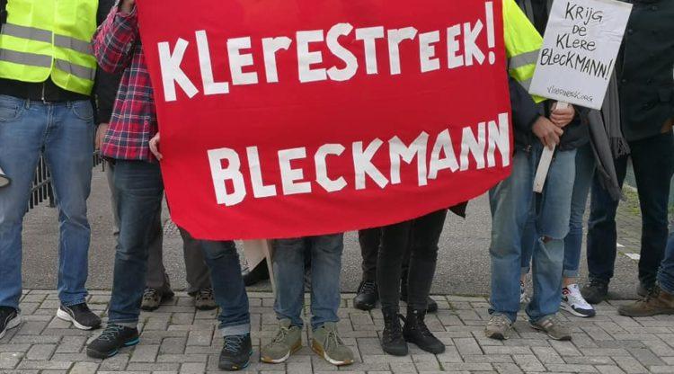 ingezoomd spandoek klerestreek Bleckmann