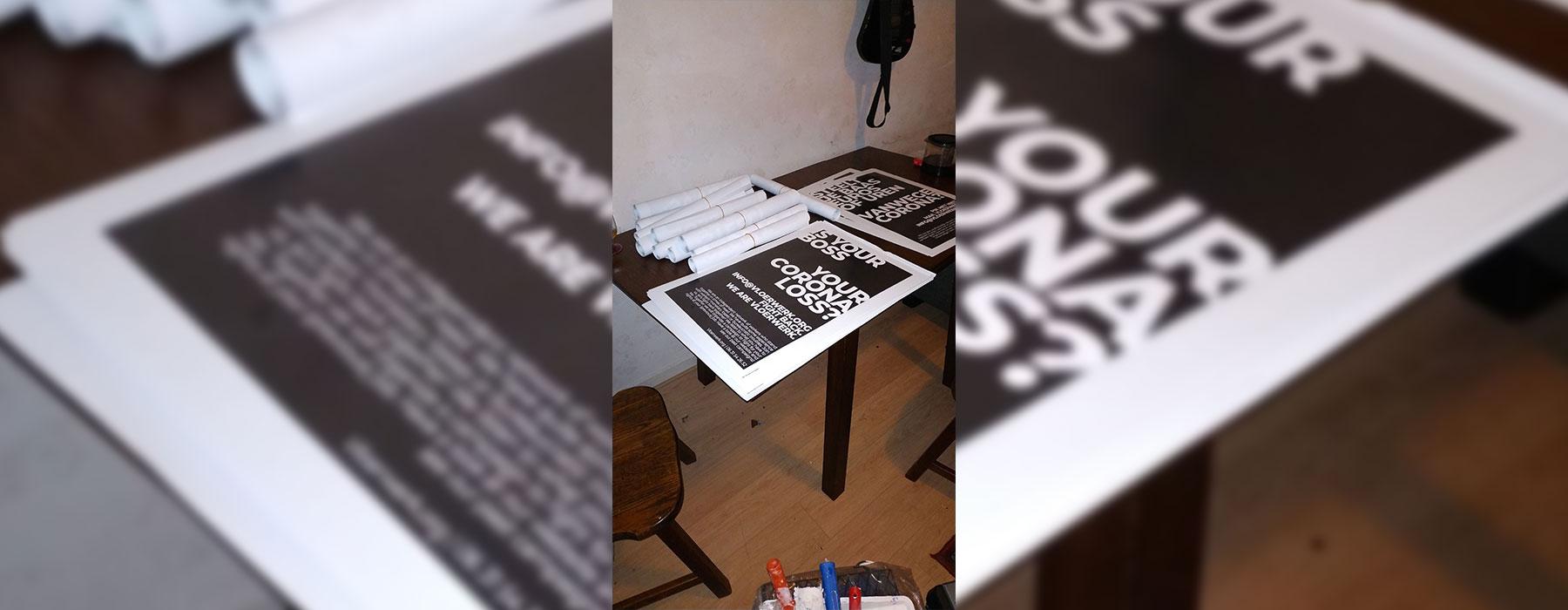plakvoorbereiding vloerwerk corona